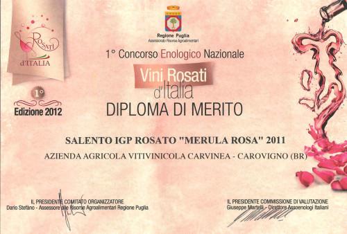 Attestato Rosati